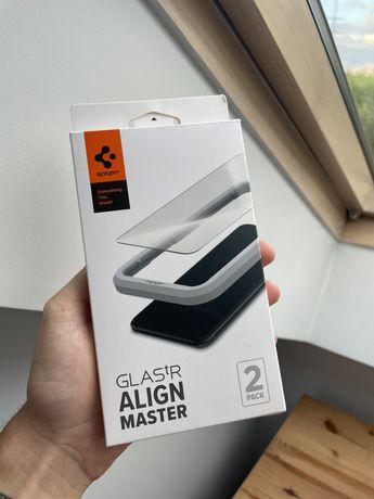 Szkło hartowane Spigen iphone 12 mini