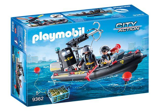 Playmobil 9362 Lancha Forças Especiais - NOVO