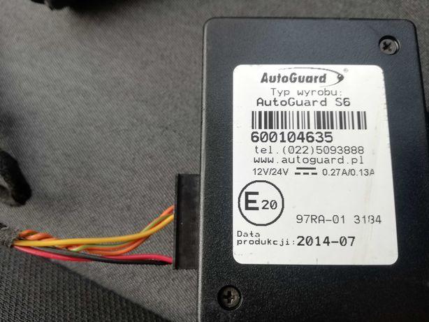 Autoguard S6 GPS do auta