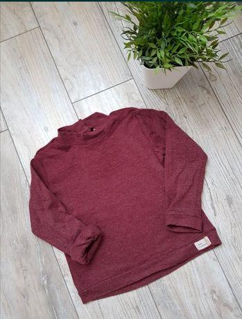 Zara 98 bluzka koszulka półgolf