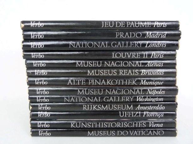 13 Livros Museus do Mundo editora Verbo-Lisboa