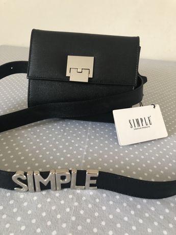 Torebka na pas-nerka marki Simple