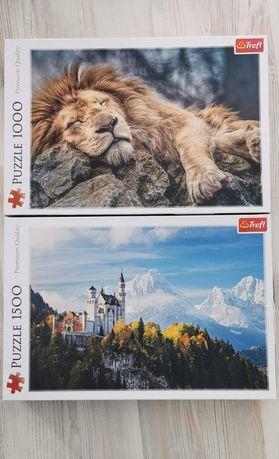 Puzzle Trefl, premium edition, 1000 i 1500