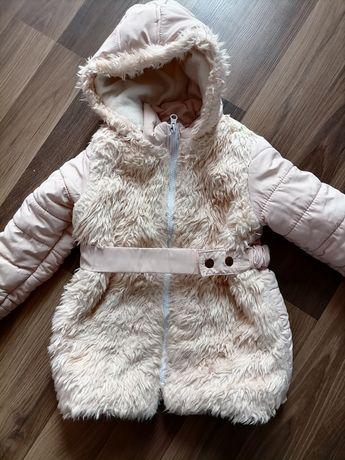 Zimowa kurtka dziewczęca r. 116