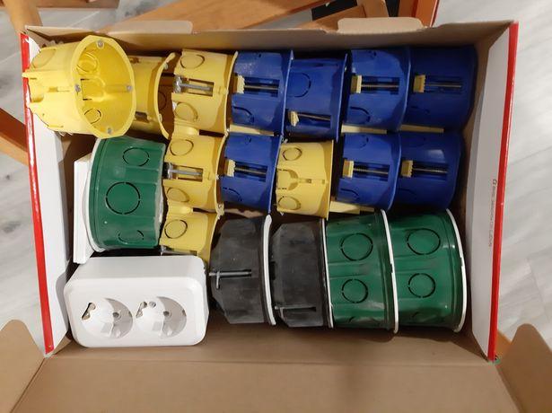 Коробки для электрики