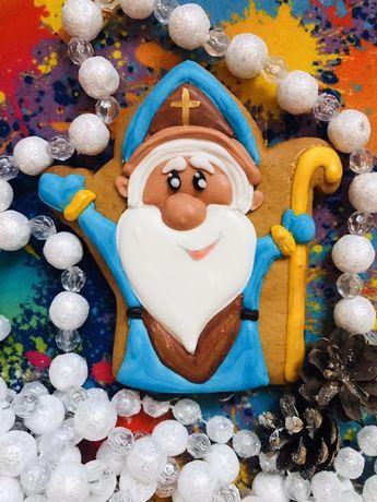 Имбирные пряники печеньки ко дню Свтого Николая