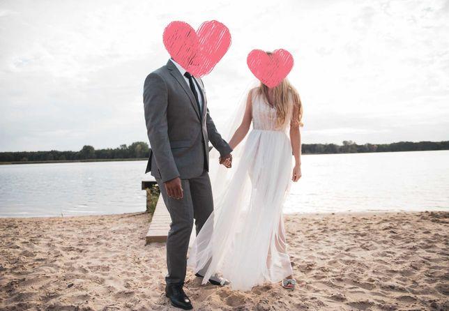 Wyjątkowa suknia ślubna OKAZJA