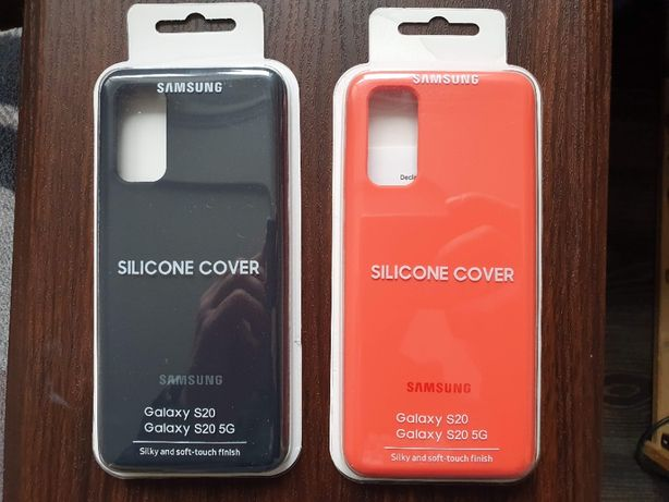 Чохол для Samsung Galaxy S20 (червоний)