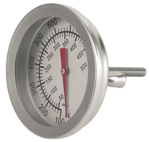 Термометр +500°C для барбекю, коптильни с зондом - (НОВ.)