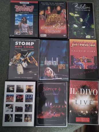 Diversos DVD filmes, concertos e documentários