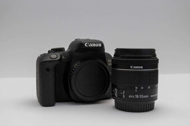 CANON 800D + EF-S 18-55mm + SD 32GB + Bateria + FiltroUV + Parasol