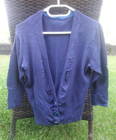 Zestaw pakiet 2 swetry komplet turkusowy granatowy New Look