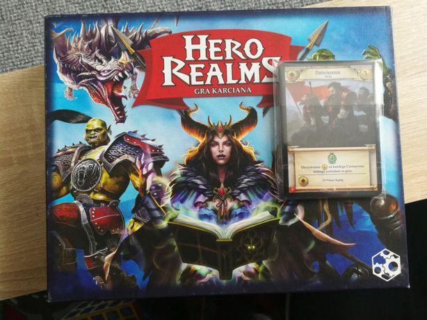 Hero realms + karty promo gra karciana