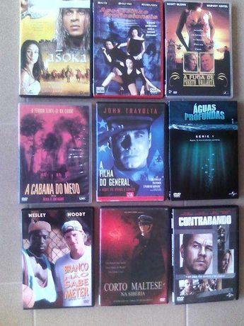 Lote de dvd's, alguns com alguma raridade