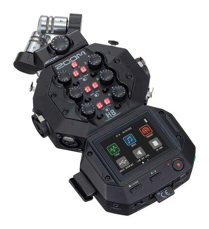 Gravador Audio Zoom H8 como novo (menos de 2 meses de utilização)