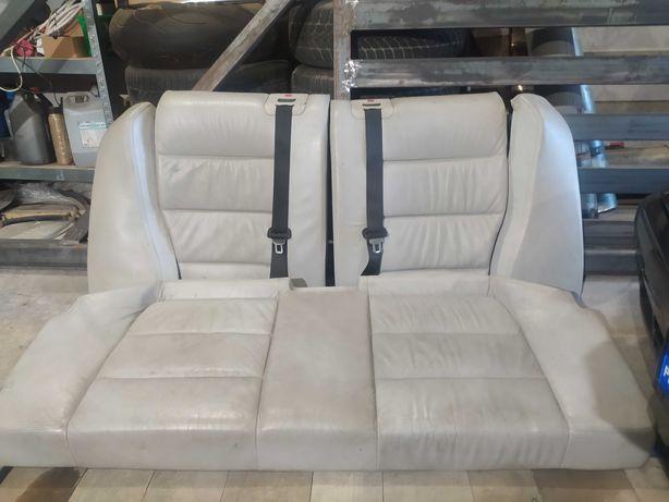 Fotele kanapa e36 coupe skóra grzane