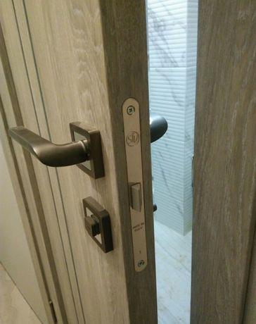 Можтаж,установка межкомнатных дверей