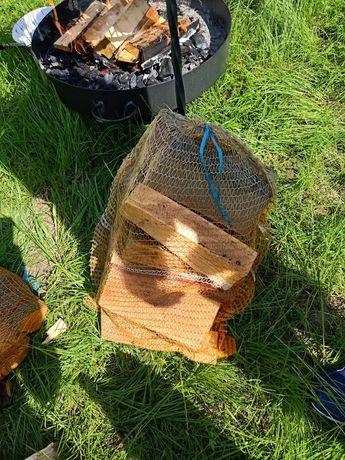 Drewno w worku suche na ognisko/ do wędzenia olcha.