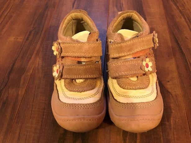 półbuty buty skórzane dla dziewczynki r. 24
