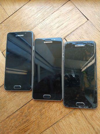 Samsung Galaxy A3-6  3 szt uszkodzone