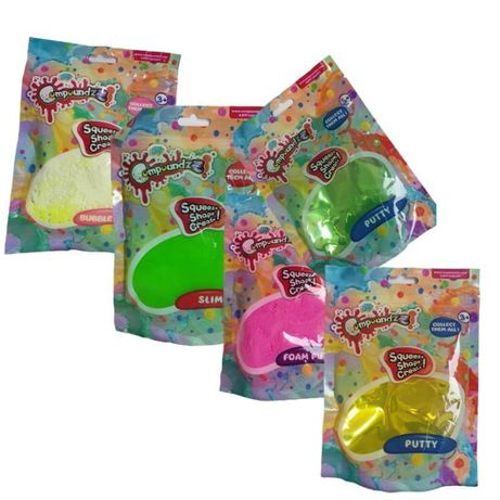 Slime - Slime Pianka , Fluffy , Putty saszetka