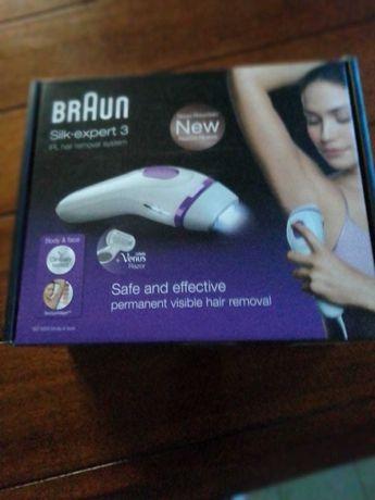 Depiladora Braun expert 3 luz pulsada