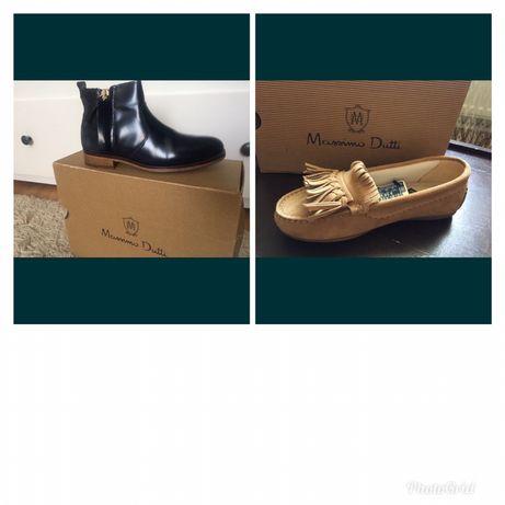 Макасины   черевики Massimo Dutti