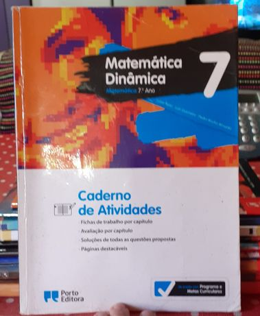 Matemática 7⁰ano  caderno de atividades