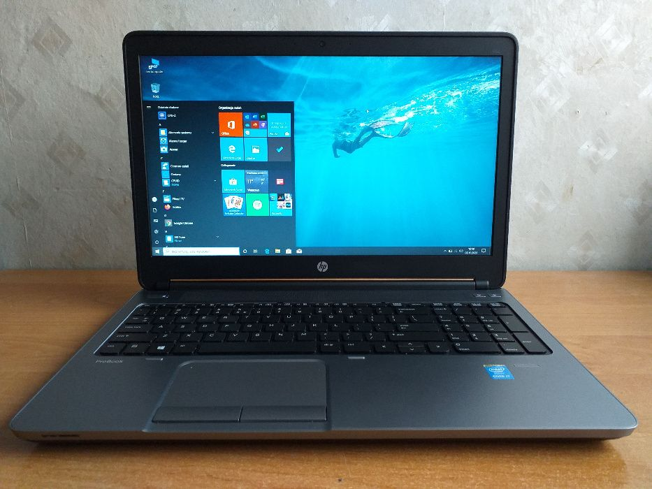 Laptop HP 650 G1 16GB RAM, 512 SSD, i7-4600M - 2.9 GHz piękny FULL HD Górowo Iławeckie - image 1