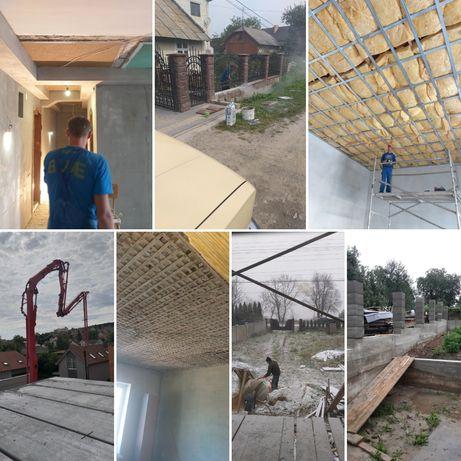 Будівельні послуги ремонт стройка будівництво будівельники євроремонт