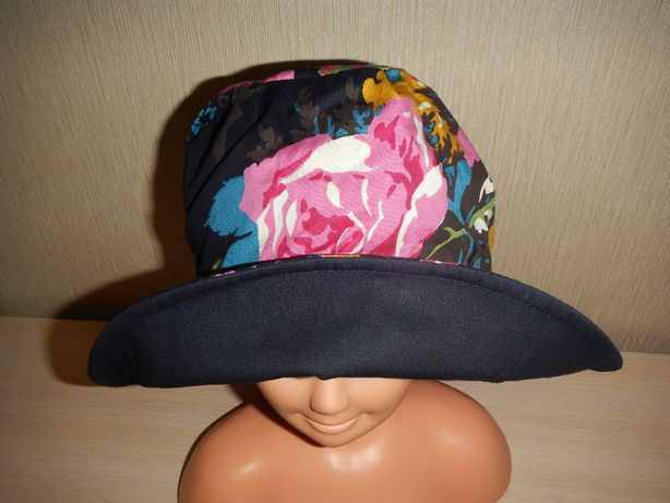двухсторонняя панама шляпа Joules р.56см хлопок