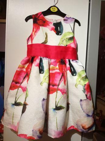 Sukienka w kwiaty rozmiar 104