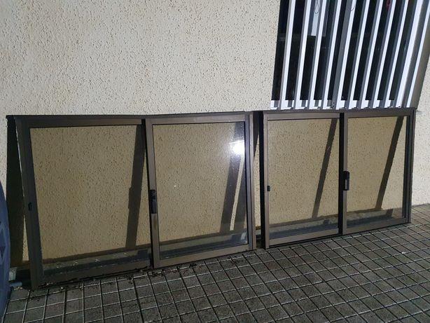 JANELAS de correr vidro simples bronze 150cm x 104cm