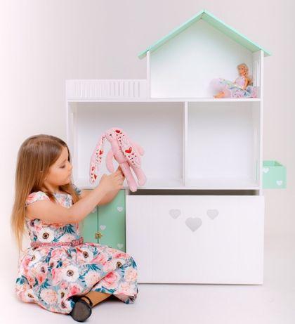 Домик для кукол с выдвижным ящиком