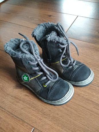 Buty zimowe, kozaki dla chłopca, Lasocki kids r.22