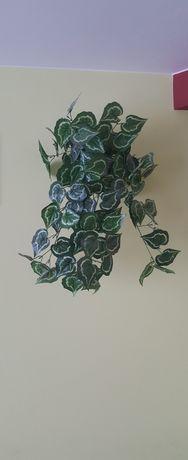 Kwiaty sztuczne wiszące w doniczce ok. 70 cm