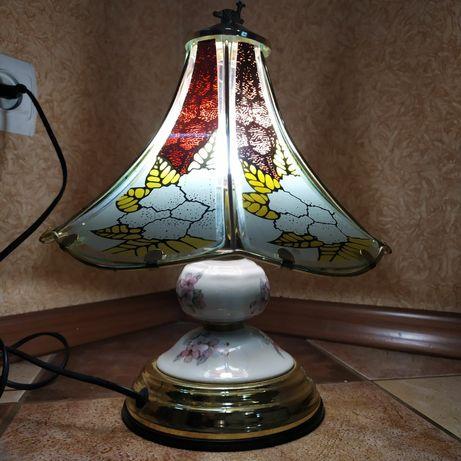 Антиквариат светильник ночник лампа раритет