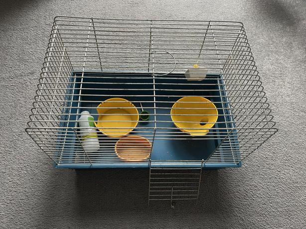 Klatka dla chomika/szczurka/myszy/gryzonia  45cm x 30cm