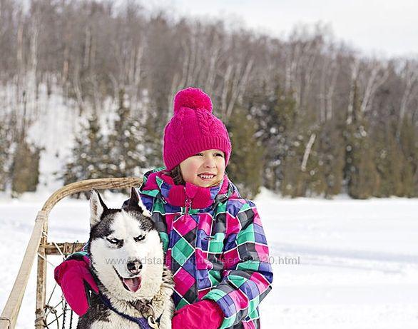 Зимний канадский комплект для девочки Gusti Boutique
