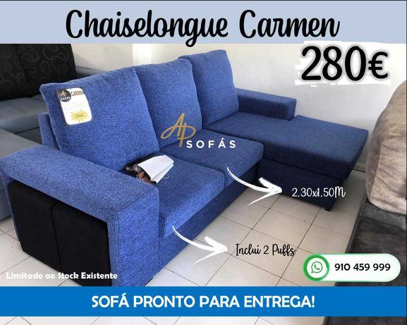 Chaiselongue Carmen - Pronto para Entrega (Fabricantes)