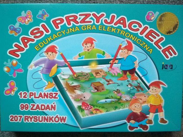 Nasi Przyjaciele - gra elektroniczna + gratis 27,5x41 cm puzzle