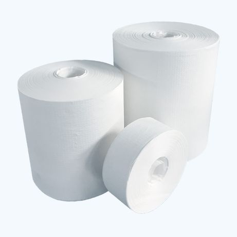 Papier do higieny wymion nieperforowany suchy chusteczki 1000 arkuszy