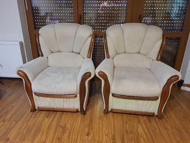 Komplet do salonu, fotele + kanapa