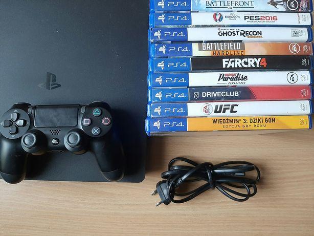 Konsola PS4 1tb z grami 1200 bez 1000