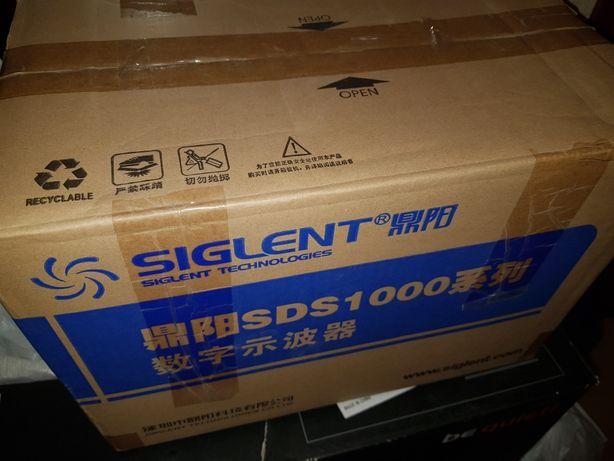 Новый цифровой осциллограф Siglent SDS1000 1102CML обмен