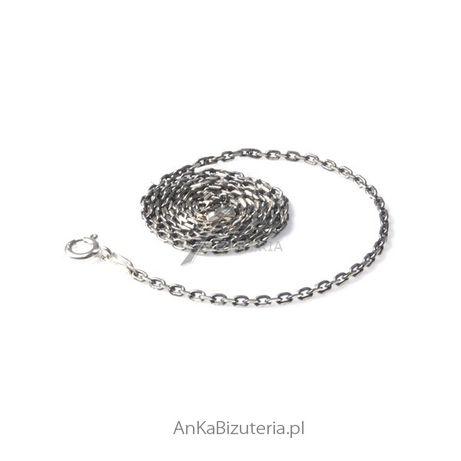 ankabizuteria.pl biżuteria len Beansoletka srebrna typu bangle sztywna