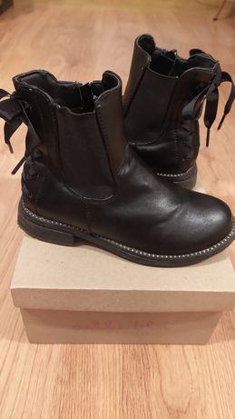 Buty botki dla dziewczynki r. 29