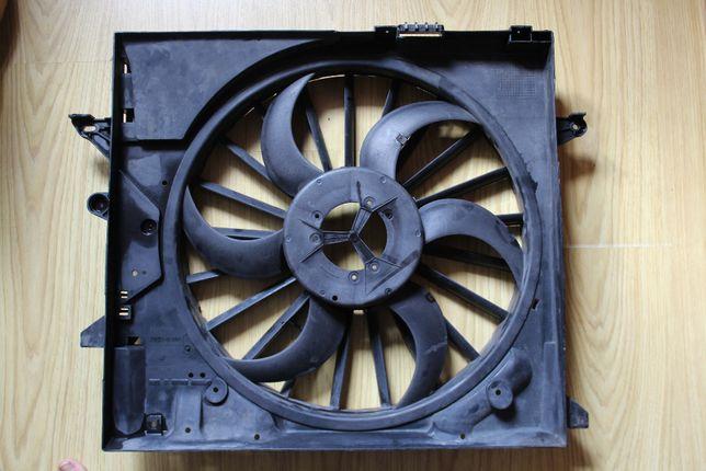 JAGUAR 2W93-8C607-BK кожух вентилятора,дифузор радиатора,крыльчатка.