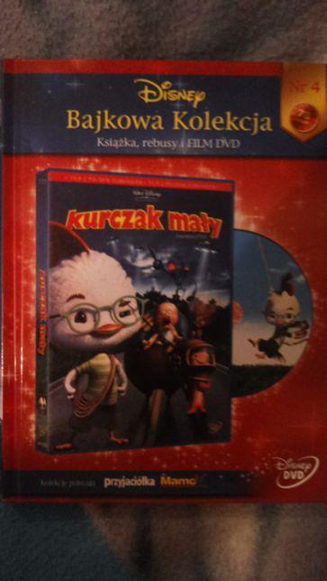 Kurczak mały film dvd plus kiążeczka