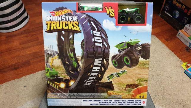 Hot Wheels zestaw Monster Trucks Pętla 2 auta Nowy